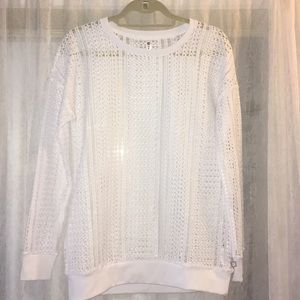 Fabletics workout sweater- brand new!